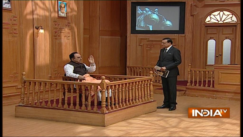 India TV-Subramanian-swamy