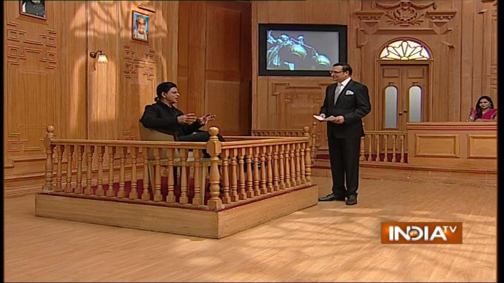 India TV-Shahrukh-khan
