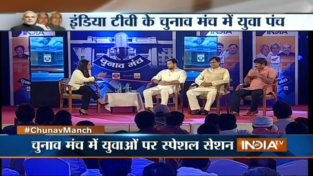 India TV Manoj-tiwari