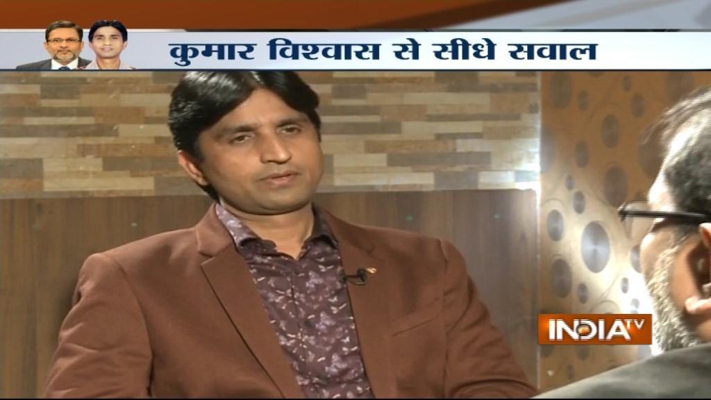 India-TV Kumar-vishwas