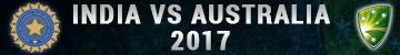India Vs Australia 2017