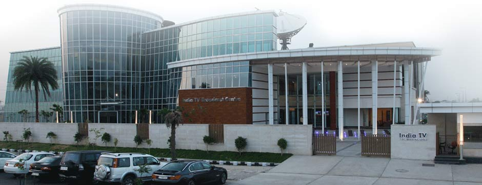 India TV Broadcast Centre